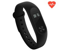 Wholesale Original Xiaomi MiBand Mi Band Smart Bracelet Fitness Wristband OLED Display Heart Rate Monitor IP67 Waterproof Touch Button