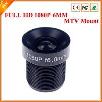 Wholesale CCTV Lens P degreee mm For HD Full HD CCTV Camera IP Camera M12 MTV Mount