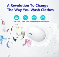 Wholesale Ultrasonic Washing Machine Multi functional Compact Mini Pocket Portable Laundry Washer Cleaner for Clothes Garments Fruits Vegetable
