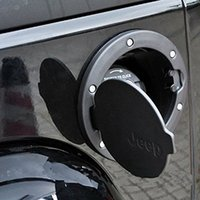 Wholesale Black Gas Tank Cap Cover Door Fuel Filler Door fit for Jeep Wrangler JK Unlimited