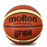Wholesale Hot Molten GG7 PU Leather Basketball indoor and outdoor Ball Training Equipment size