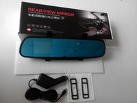 Wholesale HOT Car DVR HD Inch Screen Video Camera Recorder Camcorder Traffic Dashboard Dash Cam Degree Wide Angle View Night Vision and