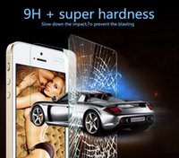 Wholesale tempered glass phone screen protector protective film For iphon ipone iphone s s c SE s plus