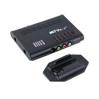 analog box with remote control - Universal LCD TV Box Computer Analog TV Program Receiver Tuner Dongle LCD Monitor HD HDTV P with Remote Control Black