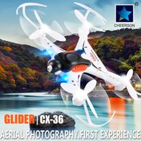 abs camera color - 1 Piece Cheerson RC Helicopter With Camera ABS White RC Mini Drone Phone WIFI Control RC Quadcopter CX