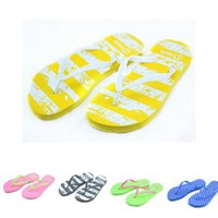 Wholesale Summer Women Casual Soft Beach Flip Flops New Arrival Female Girls Leisure Home House Non slip Slippers Kinds of Pattern