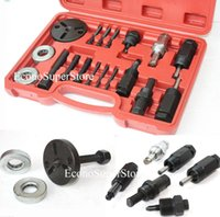 ac clutch tool - DKS PULLER PLATES TOOLS PC AC COMPRESSOR CLUTCH X quot Hex screws HUB INSTALLER REMOVER KIT Arbor installer bearings