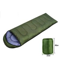 Wholesale High Quality Cotton Camping Sleeping Bag For Seasons Envelope Style Hiking Outdoor Sleeping Bags Winter Sleeping Bag H