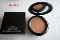 Wholesale 1pcs good quality makeup new studio fix powder plus make up face foundation g face powder concealer with sponge makeup