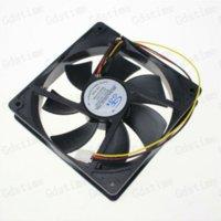 axial flow fans - 1pcs Pin inch CM mm x120x25MM DC V Axial Flow Computer PC CPU Case Cooling Fans