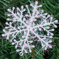 affordable christmas trees - 2016 Christmas snowflake affordable realistic suitable for Christmas trees and window decoration and family Settings