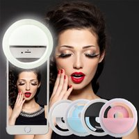 beauty photography lighting - Mobile Phone Beauty Lights RK12 Lights Artifact LED Circular Live Photography Mobile Phone Self Timer Lamp Lens Cell Phone Fish Eye Lens