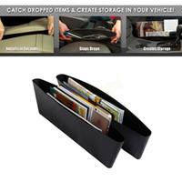 Wholesale Catch Catcher Storage Organizer Box Car Seat Gap Slit Pocket Holder HA10572