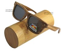 bamboo wood shades - 2016 High Quality Wood Sunglasses So Real Bamboo Wood Sunglases Men Women Polarized Goggle Driving Glasses Retro Shade uv400 protection CE