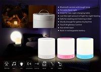 Сенсорную панель Цены-Беспроводная связь Bluetooth Speaker Smart Touch лампы музыкальный плеер громкой TF карта Bluetooth Громкая Поддерживаемые сенсорной панели управления