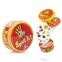 Wholesale Spot it cards Popular Toys Award winning game of visual perception for the whole family Popular Board Game