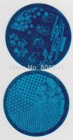 Wholesale 1000PCS hehe Series Image Plate Different Designs Stamping Nail Art CM Bule Moud Template A006