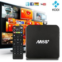 quad core cpu - Instock M8S Plus M8S Android TV Box Amlogic S812 Quad Core Cortex A9 GHz Cpu GB GB KODI G G Wifi