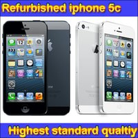 Wholesale Refurbished Prix iphone iphone5 Unlocked CDMA HSDPA Nano SIM v2 USB with A GPS support DHL Free