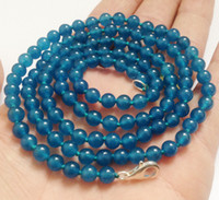 apatite pendant - 2016 hot buy pearl jade bracelet ring earring necklace Pendant gt gt gt LONG quot mm Apatite Gemstones Round Beads Fashion Necklace AAA Grade