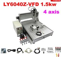 Wholesale axis D cnc router engraver drilling and milling machine with KW for aluminum metal wood stone