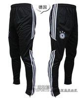 Wholesale Football pants soccer training pants legs track pants sports trousers leg pant