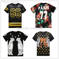 Wholesale brand t shirt men clothing pyrex t shirt casual ktz shirts summer hiphop hba Tops Tees hip hop swag medusa tshirt
