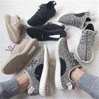 Wholesale Boost Moonrock Version Athletic Sport Shoes turtle dove oxford tan Kanye West black Drop shipping With Box Size