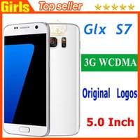 Wholesale Unlocked S7 cellphones PK S7 edge G smartphones MTK6580 Dual Core Smartphones Built in GPS Android also have I6S Plus
