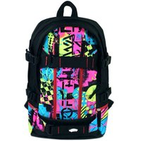art scooter - Street art backpack Scooter board play daypack Exercise rucksack New Outdoor bag Skateboard sport day pack
