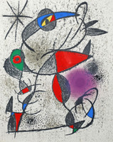 artiste animal - Impression oil painting for sale Joan Miro Souvenirs et Portraits d Artistes hand painted