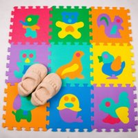 Wholesale 9pcs baby Play Mats toy eva good material soft and waterproof good gift for kids