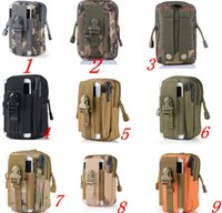 Wholesale High Quality Large Capacity Tactical Molle Pouch Belt Waist Pack Bag Pocket for Iphone Inch Samsung Military Waist Fanny Packs