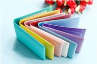 auto document holder - Candy Color Auto Driver License Bag PU Leather on Cover for Car Driving Documents Card Holder Purse Wallet Case