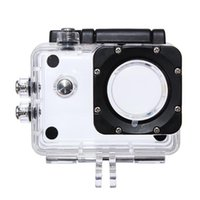 Wholesale High quality for SJ4000 Underwater Waterproof Dive Housing Protective Case for SJ4000 Camcorder Camera Helmet
