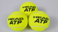 atp tennis balls - Free Shjpping balls Origenal Authentic Brand New ATP Gold Canning Pack Master Tennis Ball Z