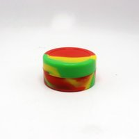 Wholesale 200 Pieces Rasta Non stick Storage Silicone Container Jar X Mm Silicone Concentrate Container