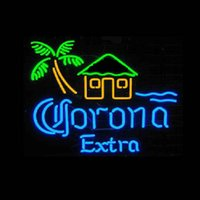 Wholesale Neon Light Sign LED sign CORONA Neon Beer Sign Bar Sign Real Glass Neon Light Beer Sign Neon Light Sign LED sign