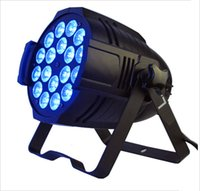 Wholesale Par Led Light with in1 RGBWA color DMX channels Black pro par lighting with high brightness output