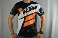 motorcycle shirt - KTM new short sleeved T shirt new motorcycle racing casual short sleeved T shirt sweat shirt sweat drying Breathable Anti UV