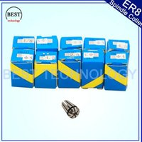 Wholesale CNC milling lathe tool from mm to mm for spindle motor ER8 Spindle collet chuck full set