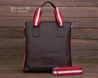 Borse da viaggio degli uomini caldi di vendita per il sacchetto Uomini Messenger Bag Tracolle Uomini Cartella di affari Genuine Leather Laptop