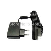 AC Power UE Câble d'alimentation Cordon adaptateur pour appareil photo Microsoft Xbox 360 Kinect Sensor adaptateur câble tv