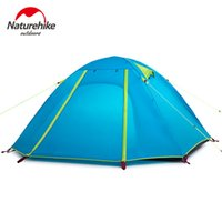 Wholesale High quality NatureHike Double Layer Person cm Outdoor Camping Hike Travel Tent
