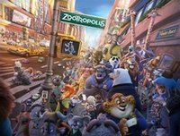 dvd media - Price Newest Zootopia Zootropolis DVD Movies Hight Quality Wall Stickers