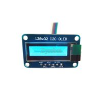 Wholesale quot SSD1306 x32 I2C OLED Module Blue Graphic Display Monochrome
