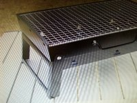 Wholesale The little black steel furnace grill
