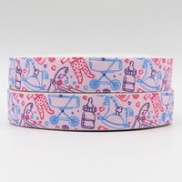 articles for baby - ribbon inch mm articles for babies design printed grosgrain ribbon webbing yards roll for hair tie