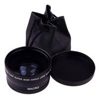 Wholesale New arrival mm X Wide Angle Macro Lens For Canon EOS D D D D D LKM4050802