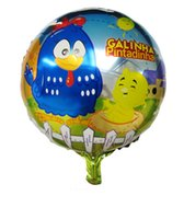 aluminum foil chicken - inch Galinha pintadinha balloons aluminum cartoon foil balloons chicken balloons